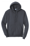 Hthr Navy Port & Company Classic Pullover Hooded Sweatshirt